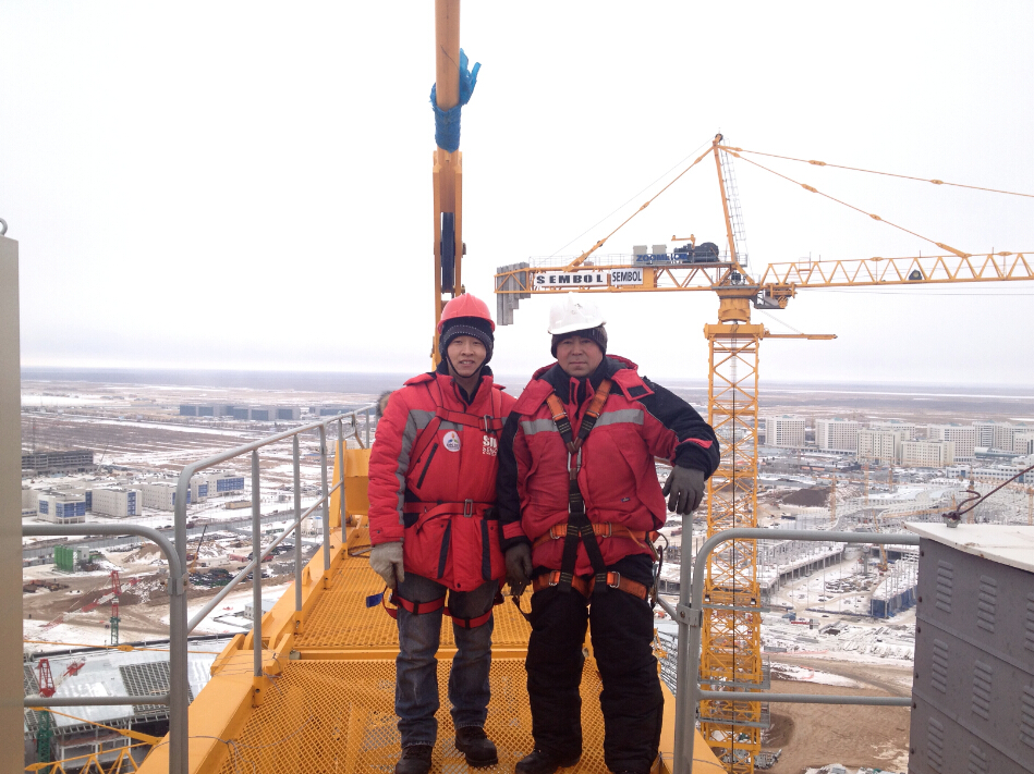 110 METERS HIGH IN THE SKY AT -30℃