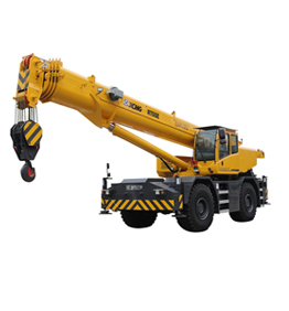 Rough-terrain crane